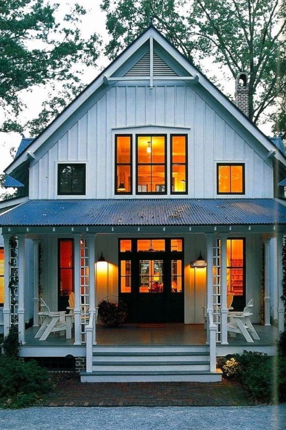 Top 9 Barndominiums You Have To See With Images Modern Farmhouse Exterior House Plans Farmhouse House Exterior