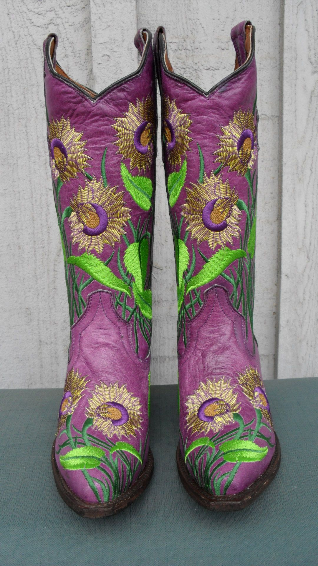 980a5bc7466 Store Spotlight: Old Sole Boot Company | Fran | Purple cowboy boots ...