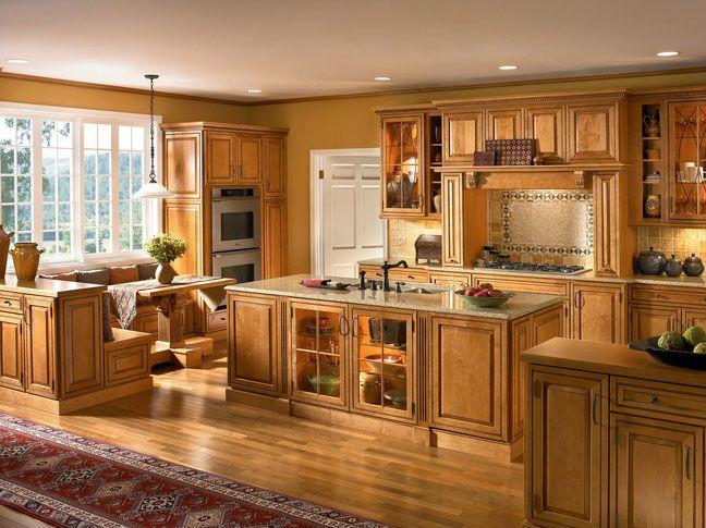 Kraftmaid Maple Praline Moc (648×485) | Kitchen Ideas | Pinterest |  Kitchen Cupboards, Paint Ideas And Kraftmaid Kitchen Cabinets