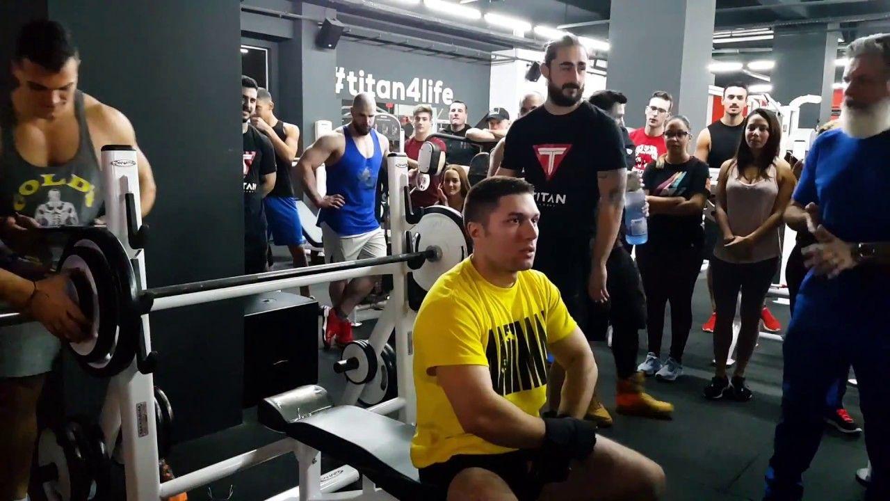 Bench press competition ÎNFRUNTAREA TITANILOR Titan