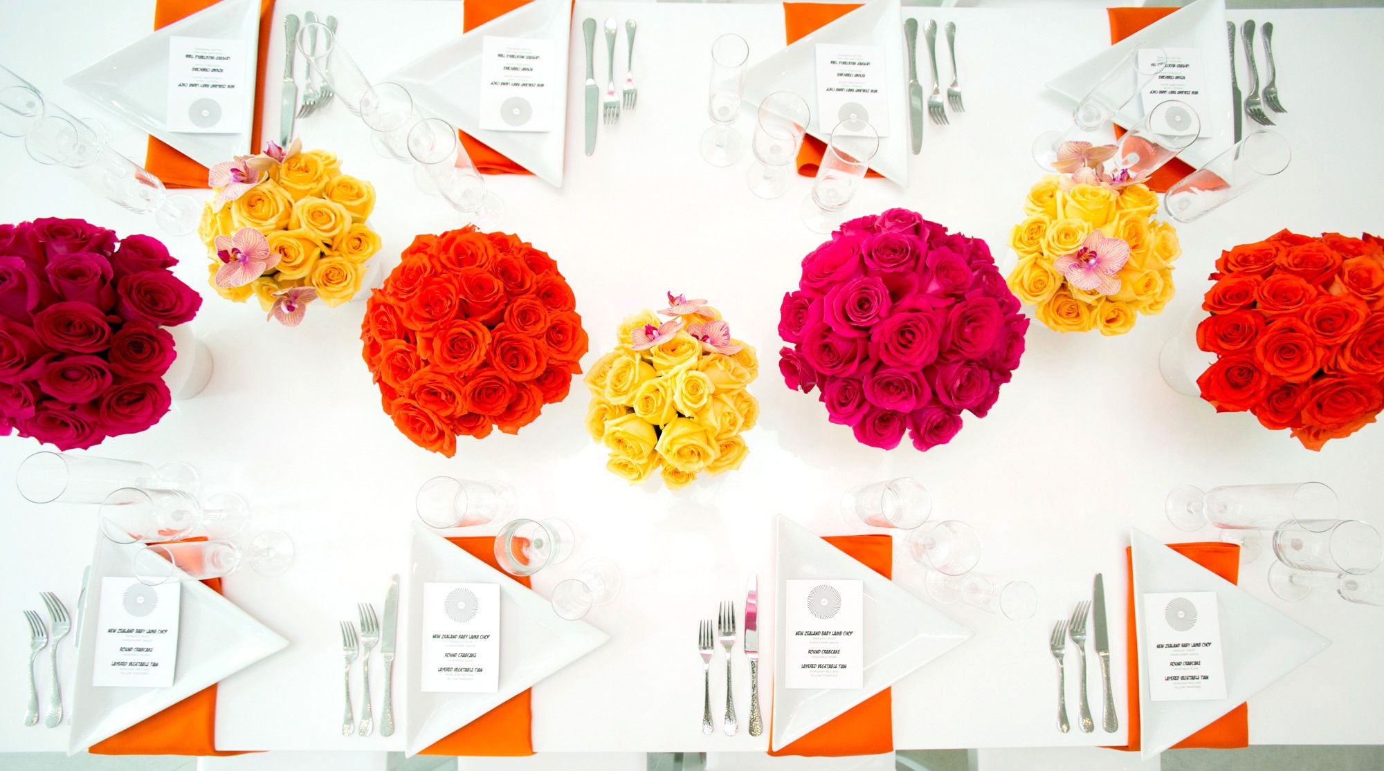 Pop Art Wedding Inspiration | Tablescapes, Centerpieces and Weddings