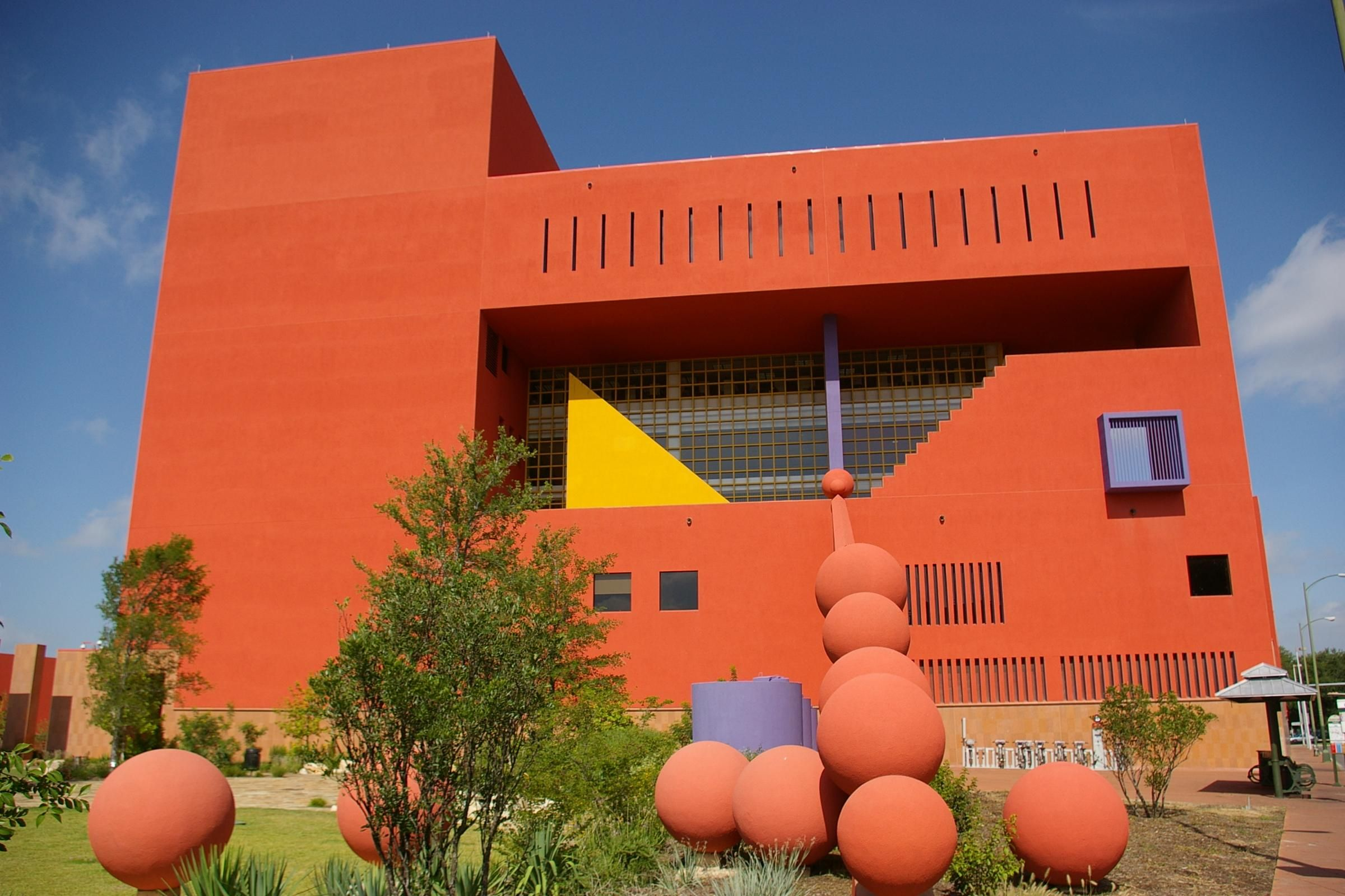 San Antonio Public Library Mexican Modernist Design