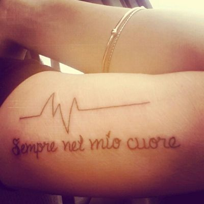 Épinglé par tattoo egrafla sur tatouage phrase en italien | tatouage