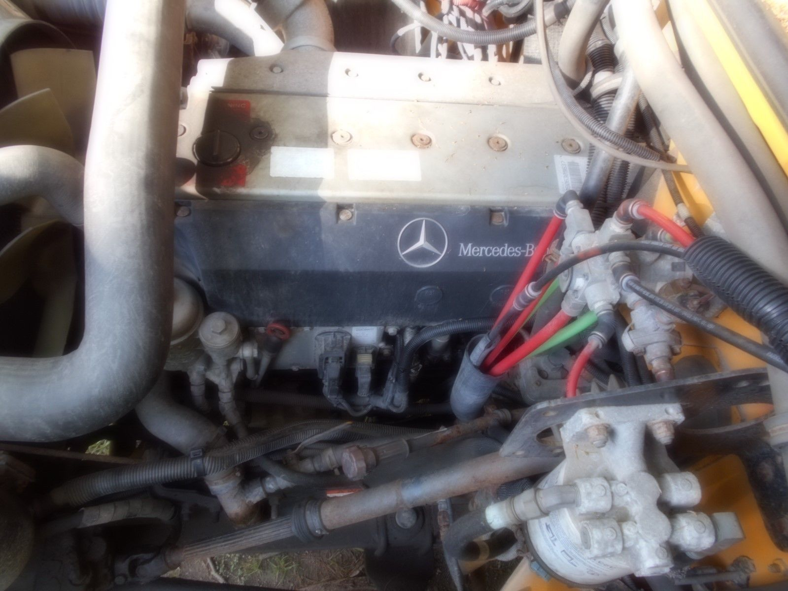 03 MERCEDES 6.3L 210HP ENGINE W/ 123K FREE SHI[PPING!