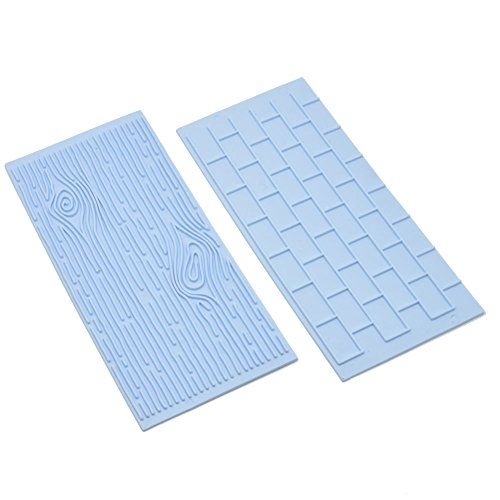 Anyana Wood Brick Wall Silicone Fondant Sugarpaste Mould Cake Decorating Tools Cooking Aie146a Check Out Th Brick And Wood Diy Molding Cake Decorating Tools