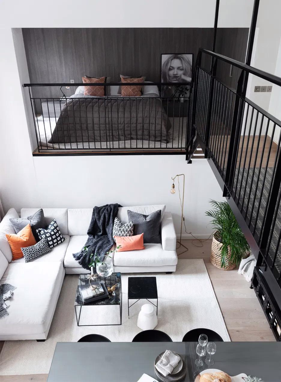 Deze 3 Trends Gaan We In 2020 Zien Small Loft Apartments Loft Interior Design Loft Interiors