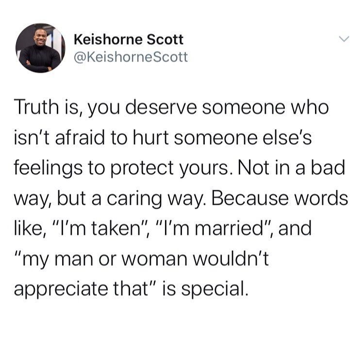 """Photo of Keishorne Scott on Instagram: """"Drop ❤️ if you agree! — Do everything you can to preserve and protect your love. #Relationships #Dating #rp"""""""