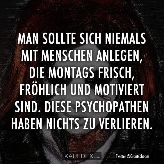 Bekannte Psychopathen