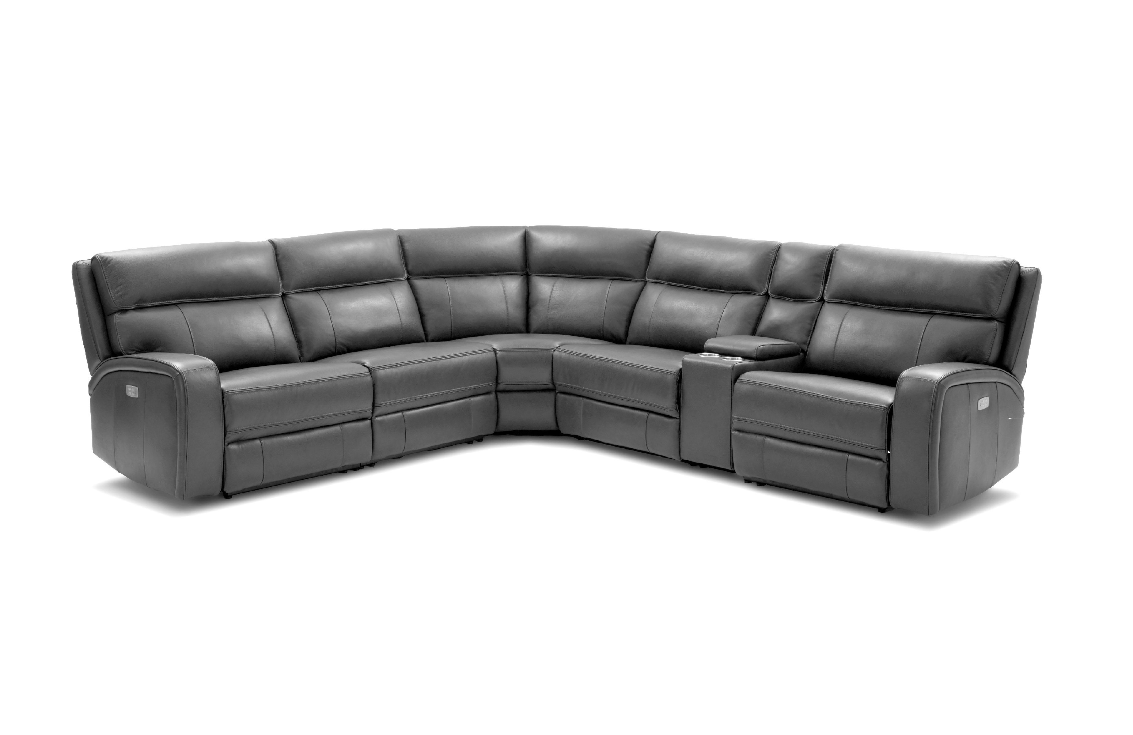 Advanced Adjustable Sectional Upholstered In Real Leather With End Table Italian Leather Sectional Sofa Leather Sectional Sofa Corner Sectional Sofa