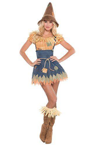 Wizard of Oz Scarecrow Costume Child Boy S:Medium FREE 5Pc Straw Kit Bookweek