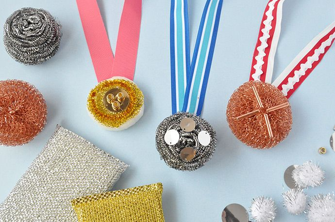 3 Olympics Crafts for Kids is part of Cool Kids Crafts DIY Projects - Celebrate the winter Olympics with these three fun DIY projects!