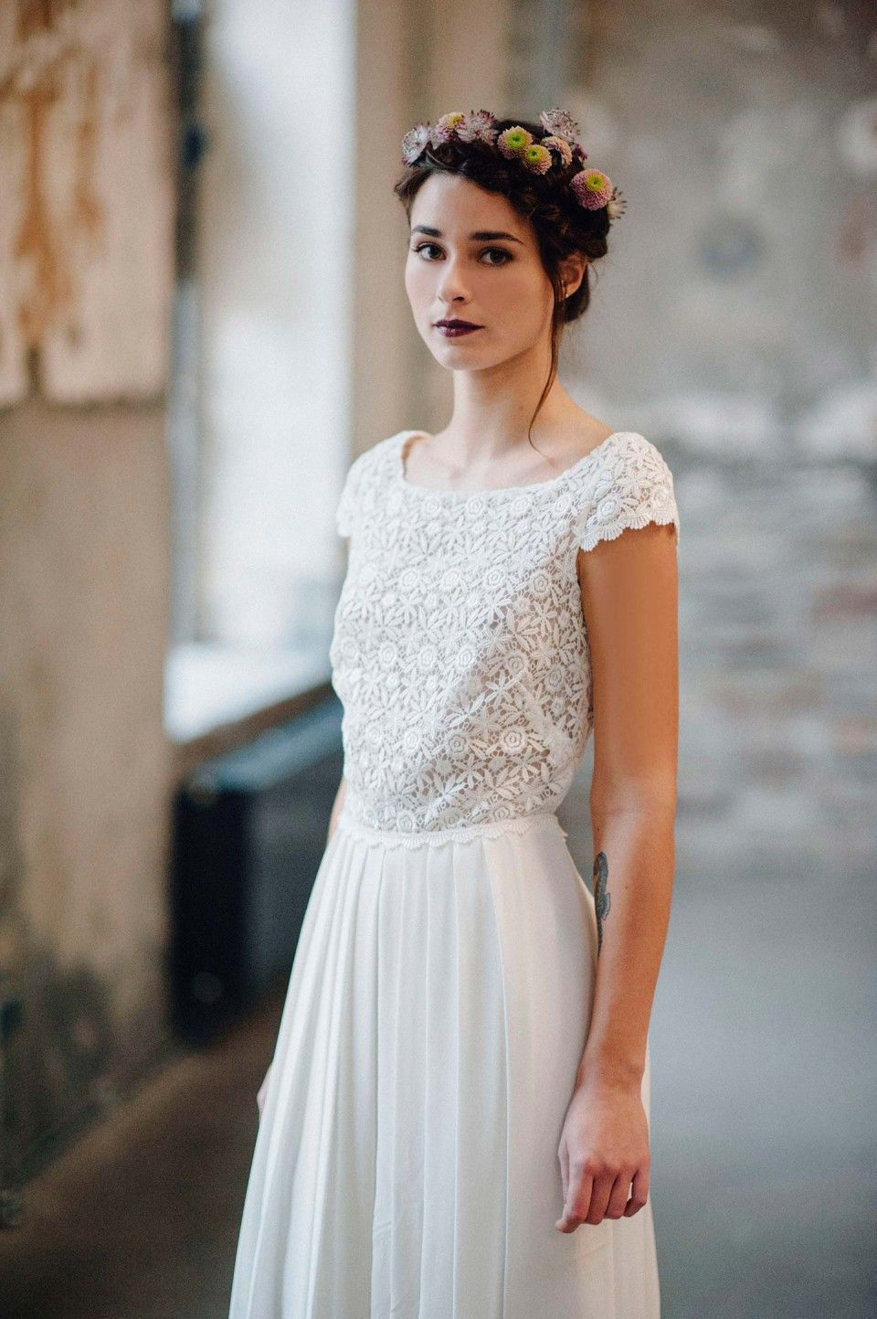 Traumhaft leichte Brautkleider von Victoria Rüsche | Pinterest ...