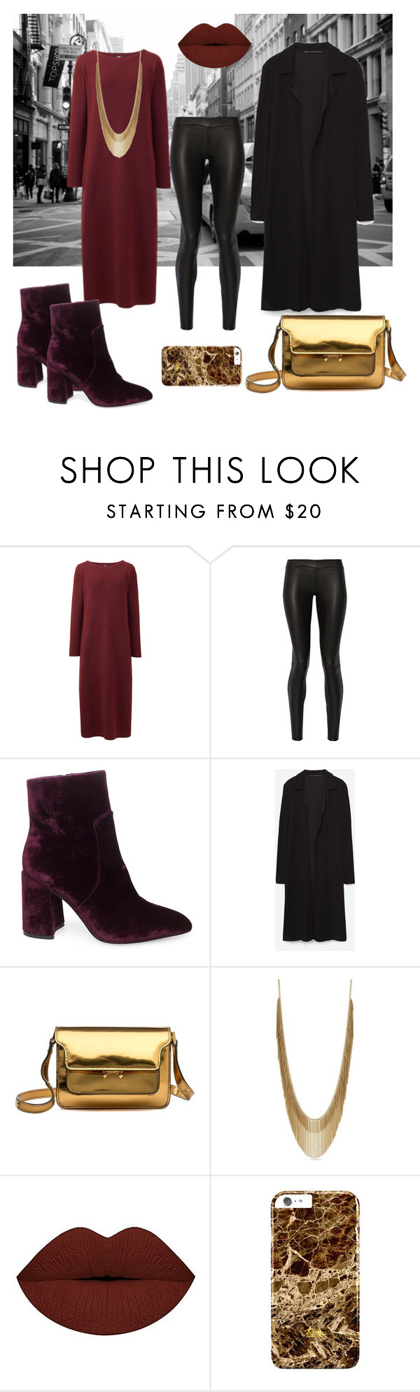 """Autumn 2016 trends"" by ler0306 ❤ liked on Polyvore featuring Uniqlo, The Row, Steve Madden, Marni and BCBGeneration"