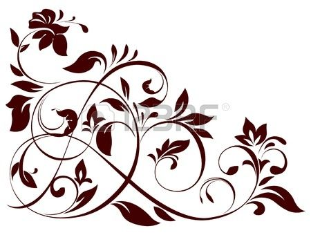 14856726-ilustracion-del-ornamento-floral.jpg (450×340)