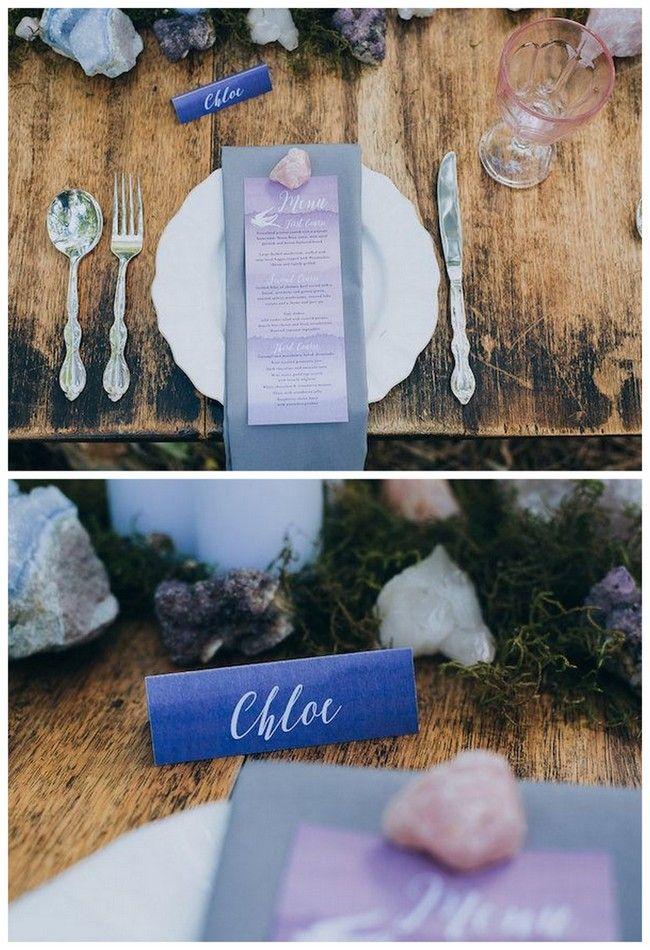 confetti daydreams wedding invitations%0A    Geode Agate and Crystal Wedding Invitations to Rock Your World