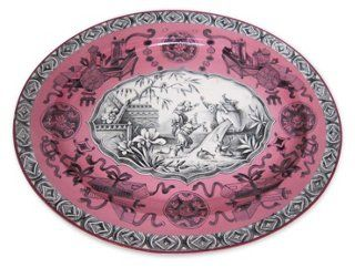 English Transferware Platter