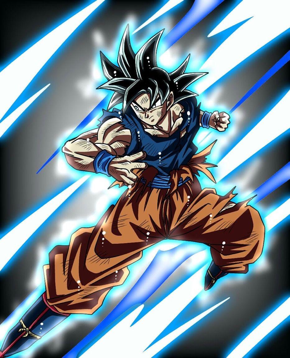 Goku Ultra Instinct Omen Dragon Ball Goku Dragon Ball Super Goku Anime Dragon Ball