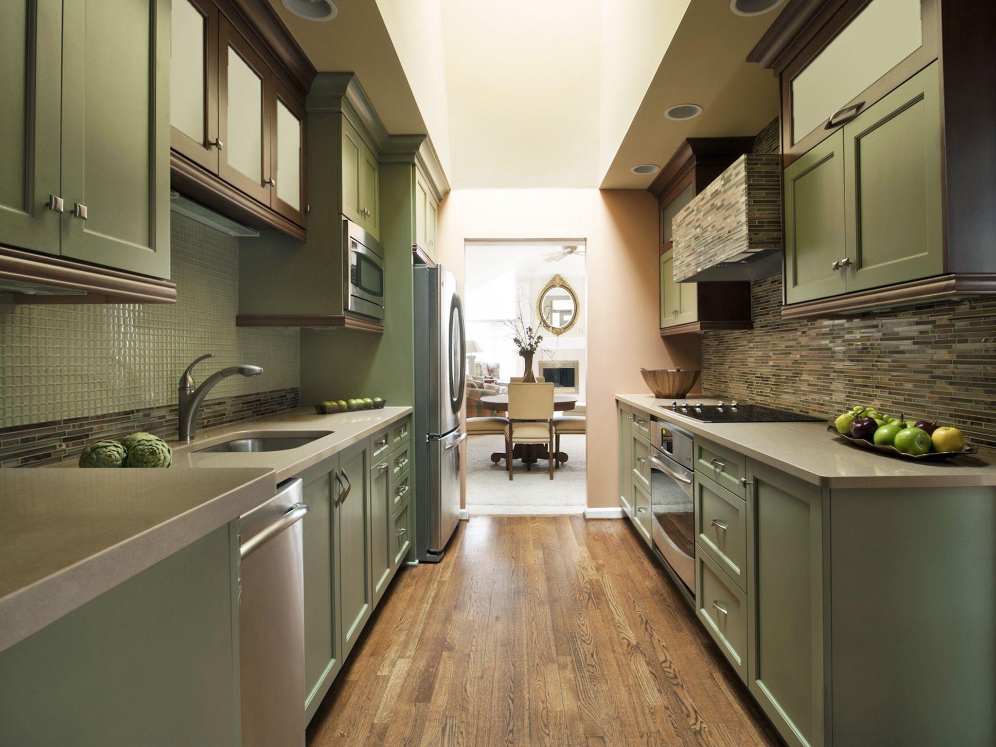 Ausgezeichnet Lange, Schmale Küche Renovieren Ideen Fotos - Küche ...