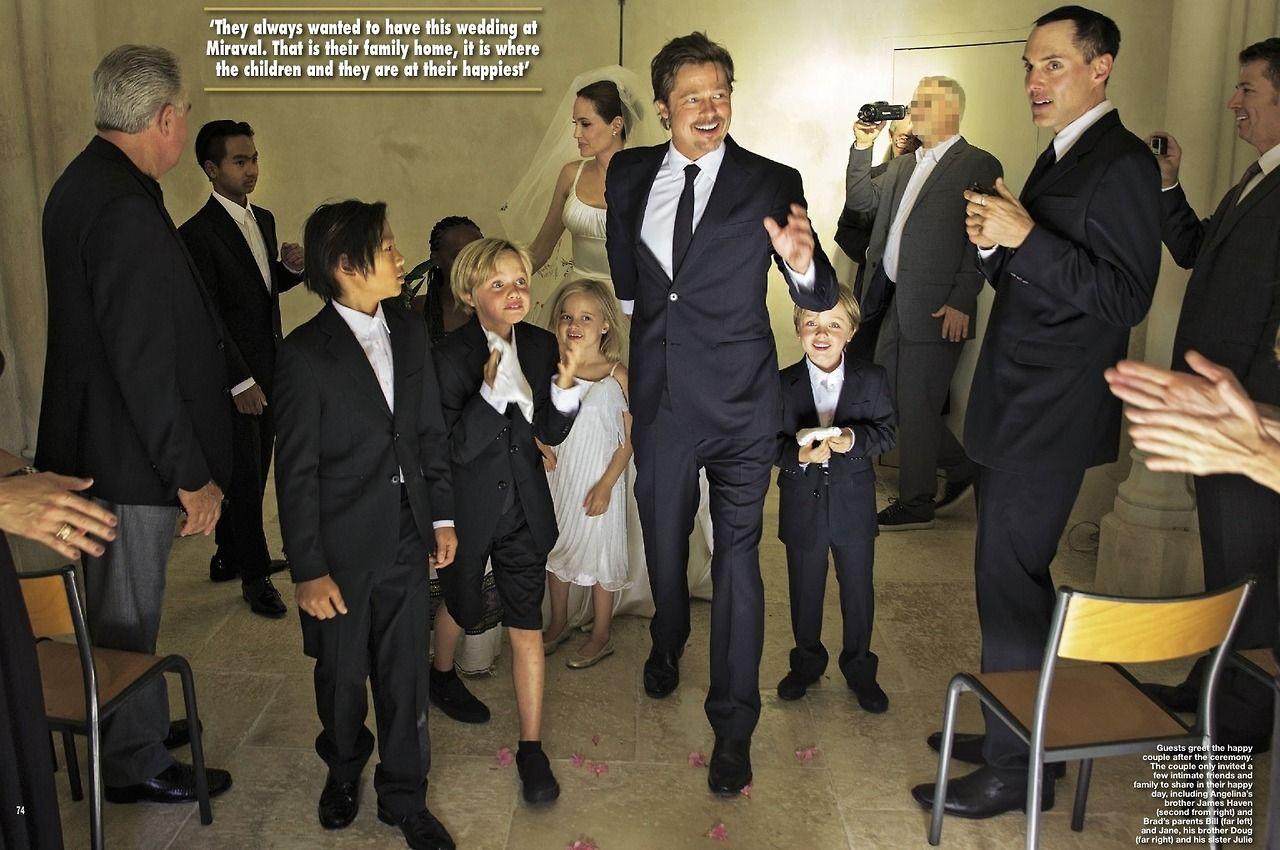 Loveislove Angelina Jolie And Brad Pitt Wedding Ceremony 2014