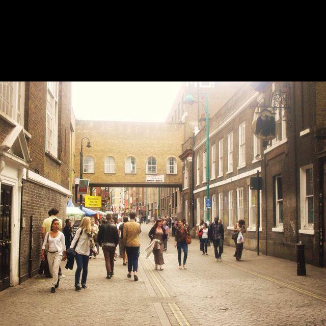 Brick Lane, East London.