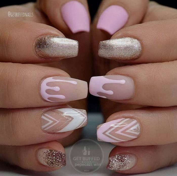 80 Stylish Acrylic Nail Design Ideas Perfect for 2016 | Fashionisers ...