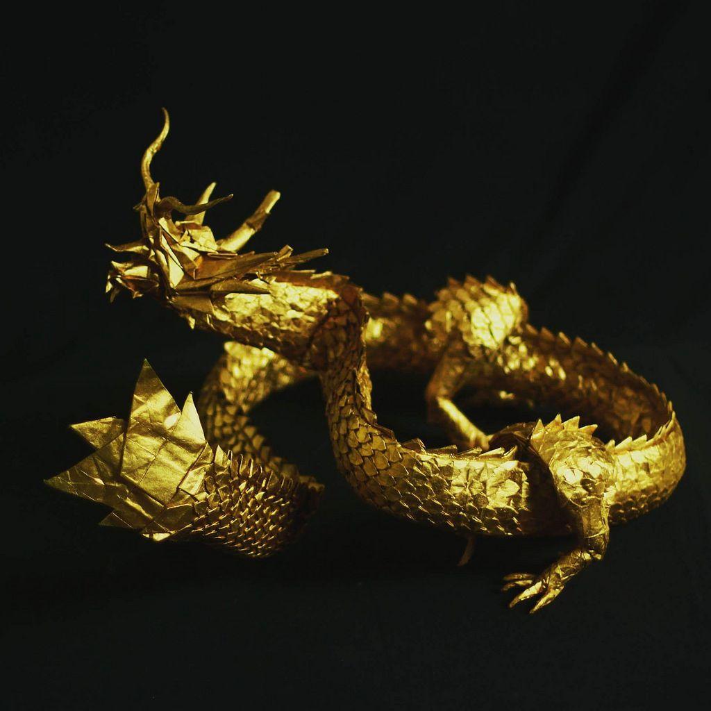 ryujin 35 by ng�c th224nh89 dragons pinterest origami