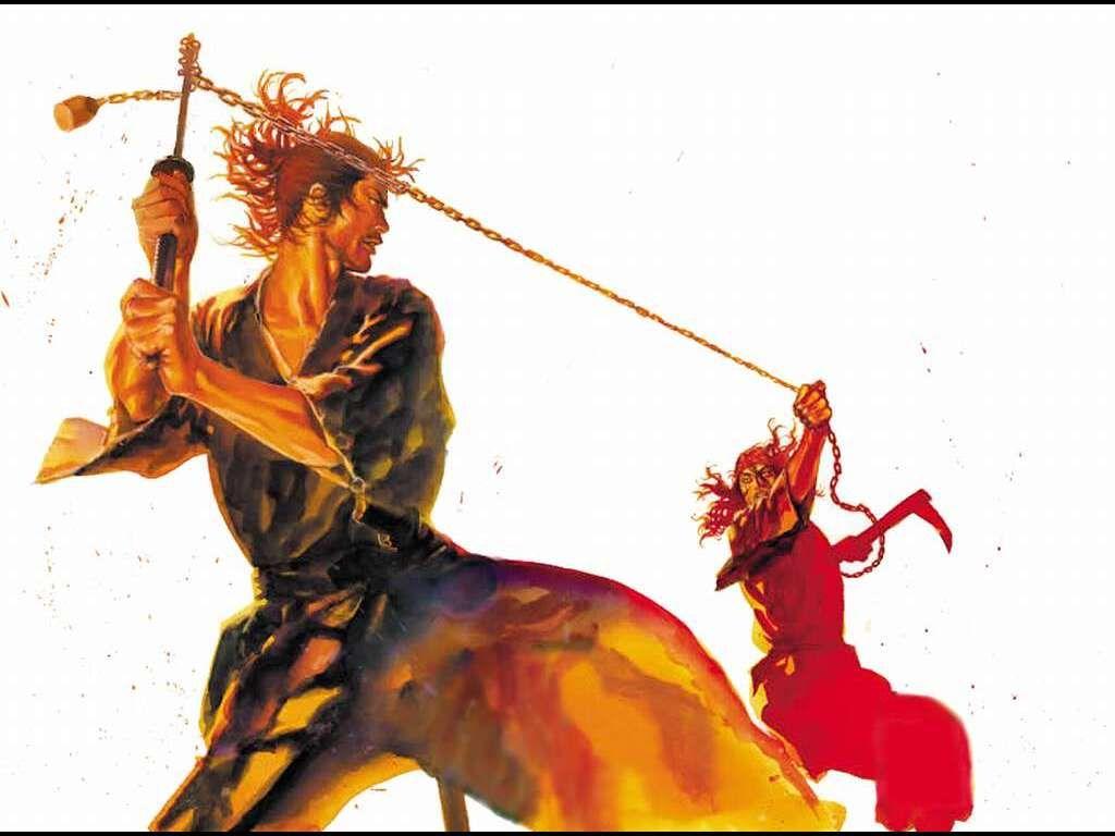 Điểm yếu chết người của những vũ khí nổi tiếng: Kusarigama
