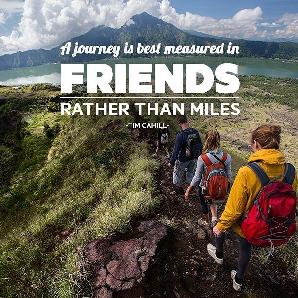 A Journey Is Best Measured In Friends Rather Than Miles Tim Cahill