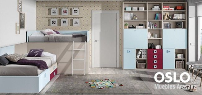 ✔ 100 Dormitorios juveniles en Valencia | Muebles Intermobel®