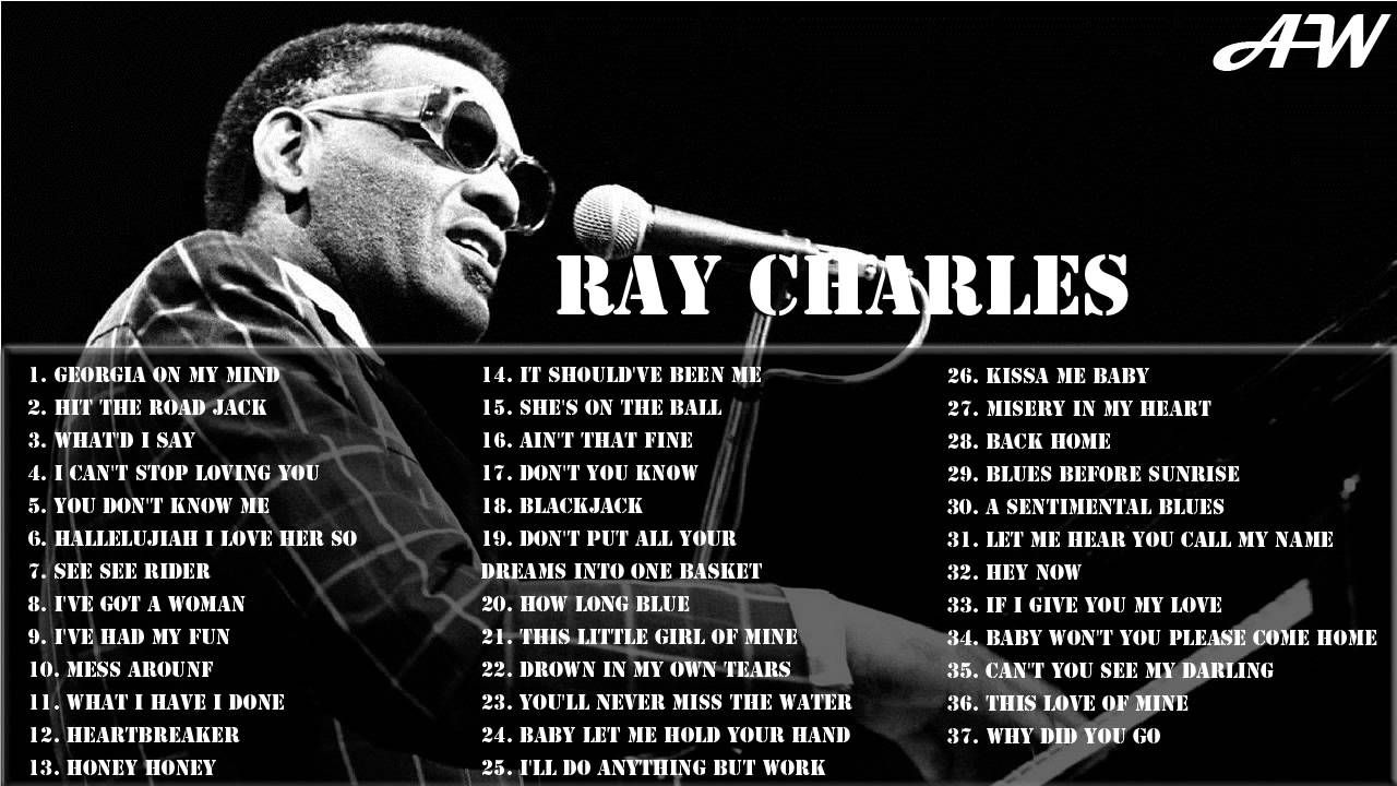 RAY CHARLES Greatest Hits Full Album | Best Songs Of Ray Charles