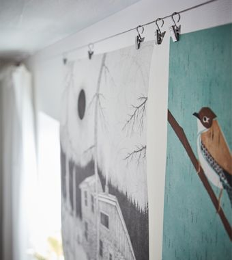 Riktig Curtain Hooks With Clips From Ikea May Be Made For Curtains