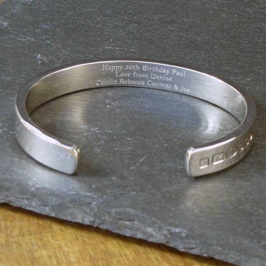 Men's Solid Silver Bracelet Heavy Weight