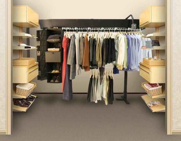 Wardrobe closet conveyorDressing RoomsClosetsPinterest