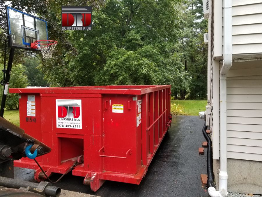 10 Yard Dumpster Rental Clean Out In Andover Ma Dumpster Rental Dumpster Andover