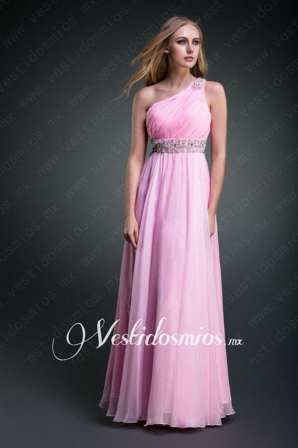 Solo Hombro Vestido de noche | Bridesmaid dress | Pinterest | Noche ...