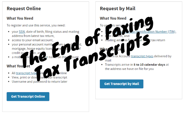 How Long Does It Take To Get Irs Tax Transcripts