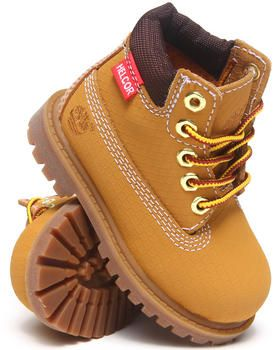 infant orange timberland shoes