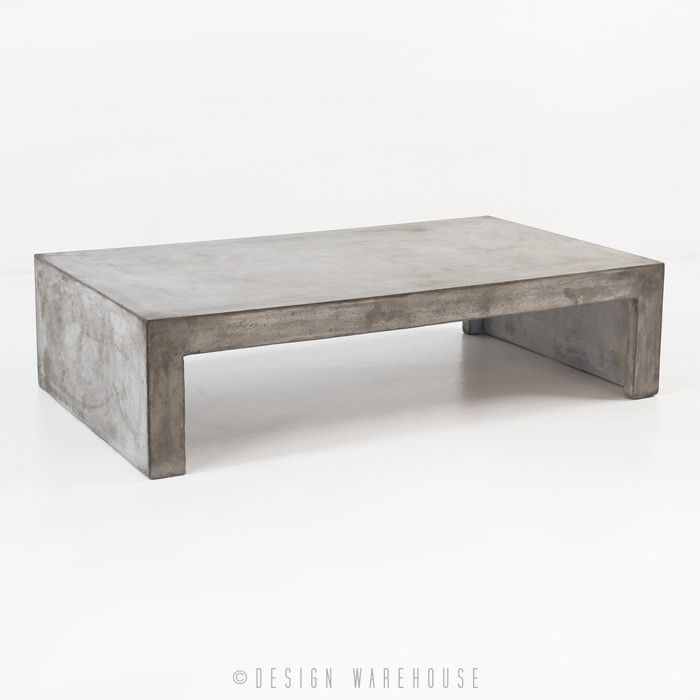 blok concrete waterfall coffee table coffee tables accessories turnbull refresh concrete. Black Bedroom Furniture Sets. Home Design Ideas