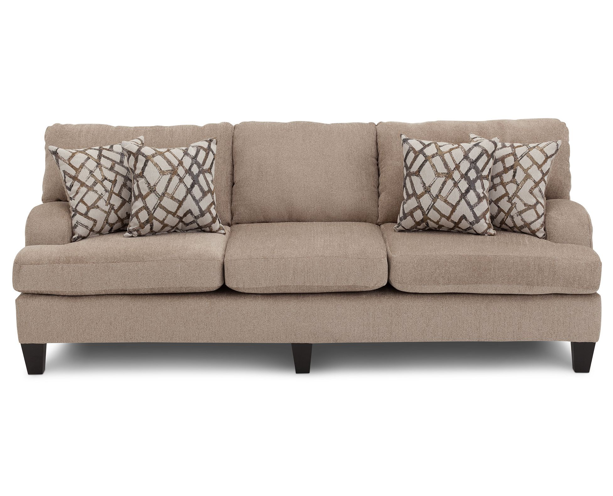 Aries Ii Sofa Is Oversized For Casual And Contemporary Comfort In