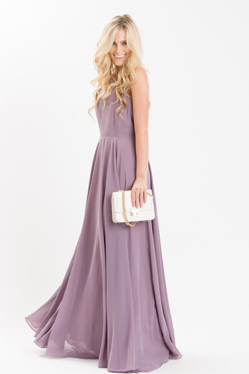 381e452d254 We re just as obsessed with the dreamy light purple color as we are of the  elegant flowy skirt.