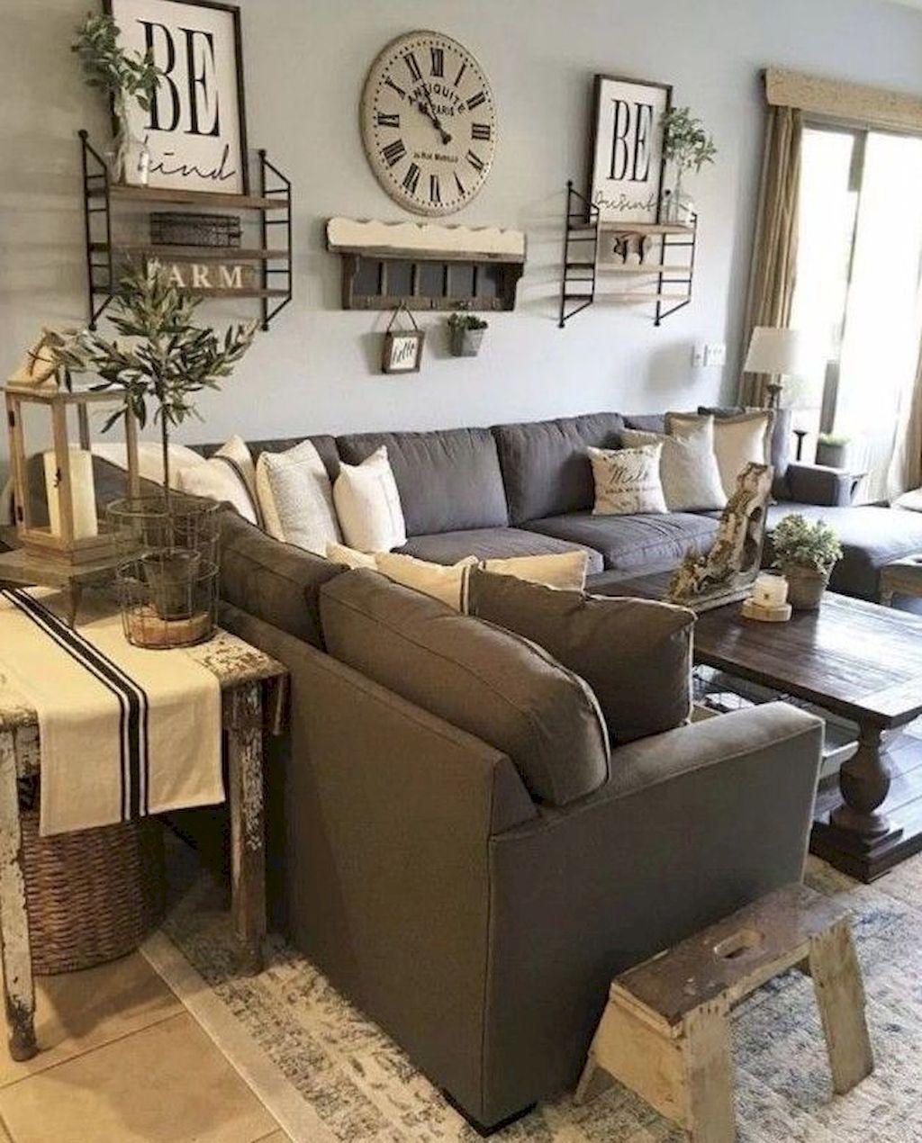 32 modern farmhouse living room decor ideas   Pinterest   Einrichten ...