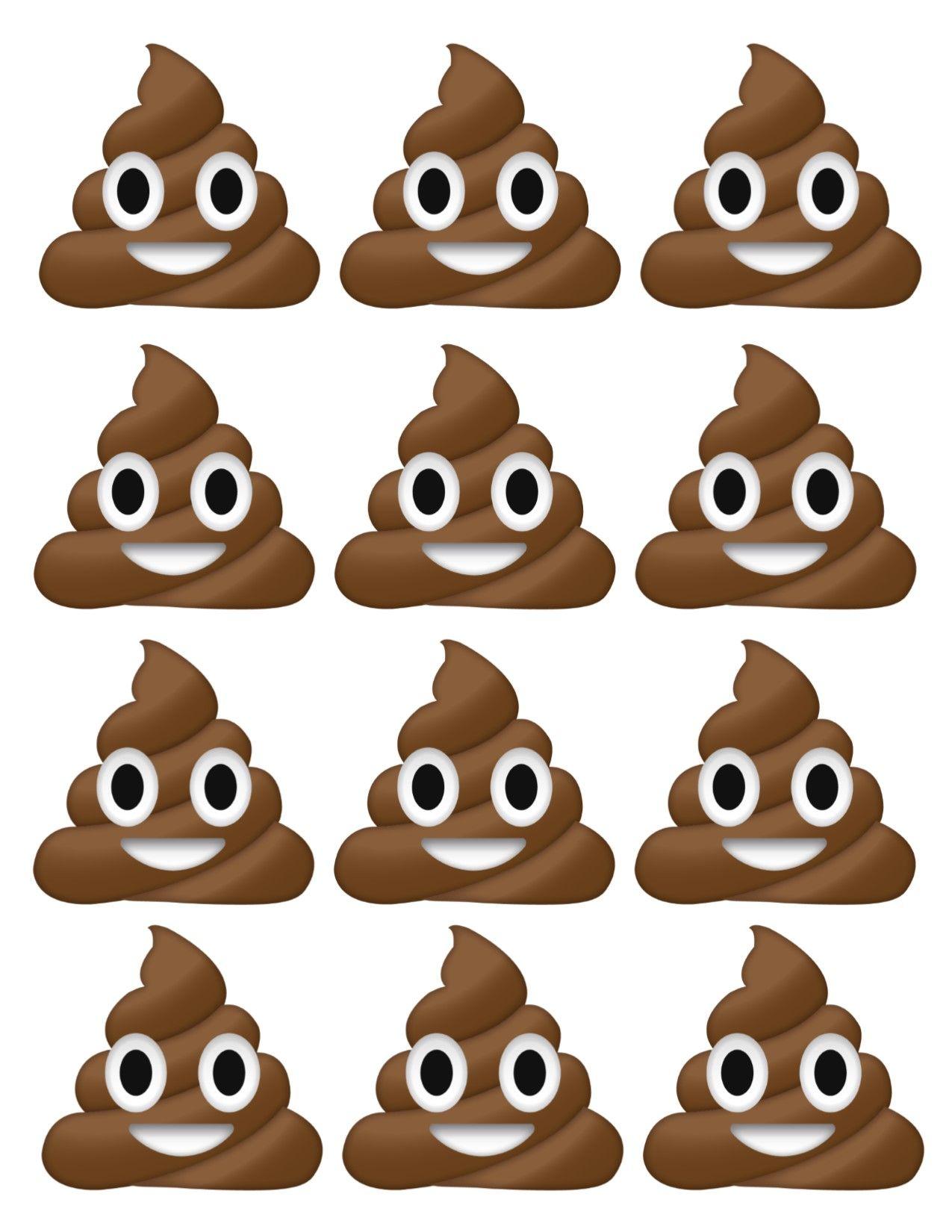 Pin On Sawyers Poop Emoji Bday