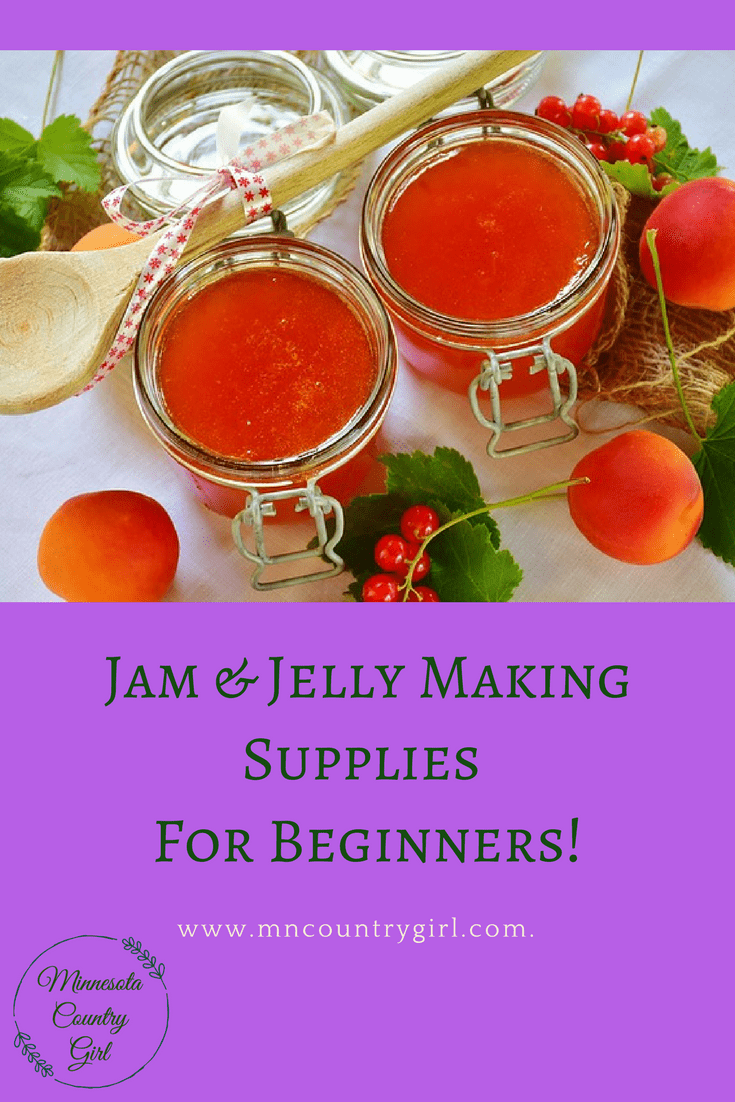Jam Amp Jelly Making Supplies For Beginners Jam And Jelly Grow Your Own Food Making Supplies