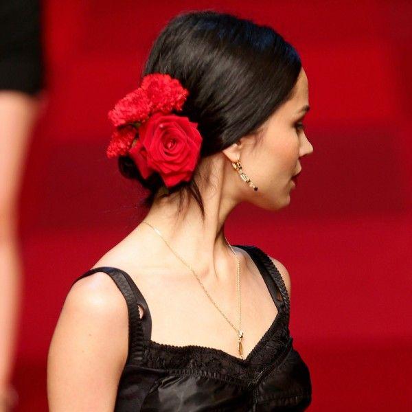 Glam Ways To Get ItalianGirl Style Italian Girls Beauty - Bun hairstyle games