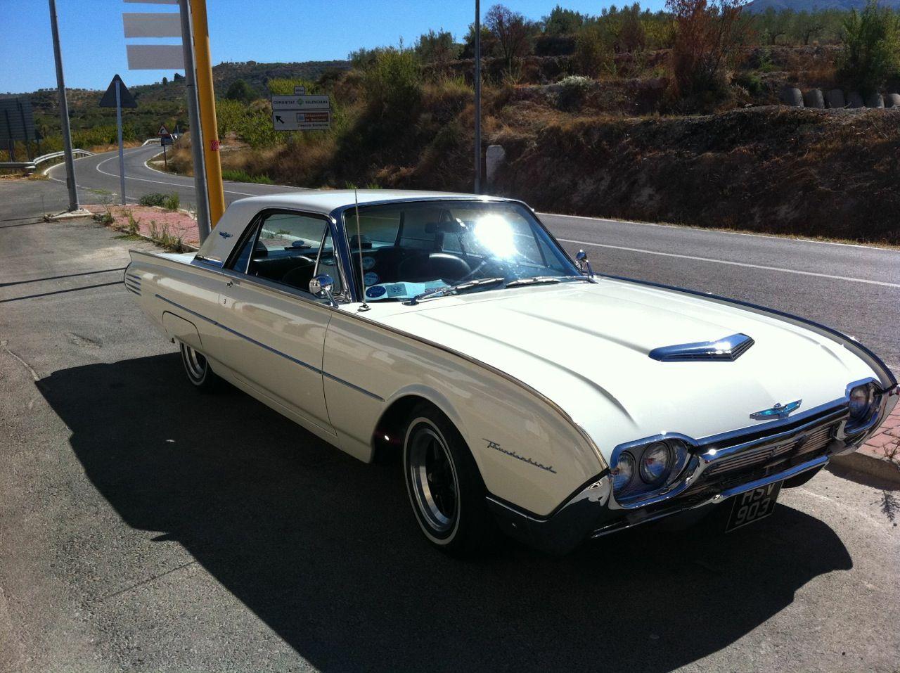 Speedmonkey spotted 1961 ford thunderbird and 1961 chevrolet corvette