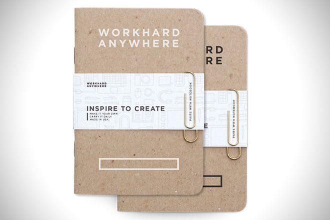 Work Hard Anywhere Pocket Notebooks