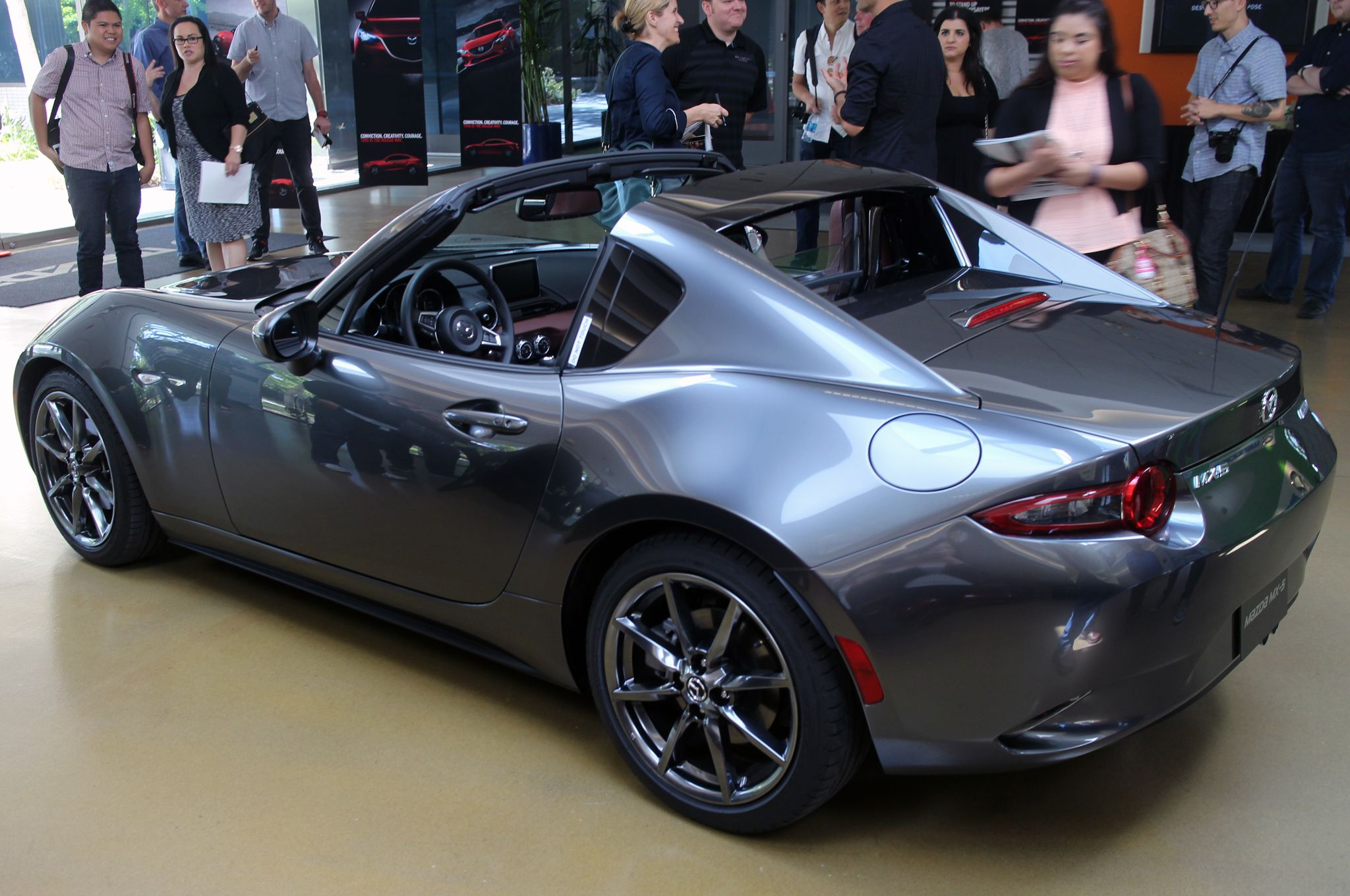 Take another look at the 2017 Mazda MX-5 Miata RF in this ...