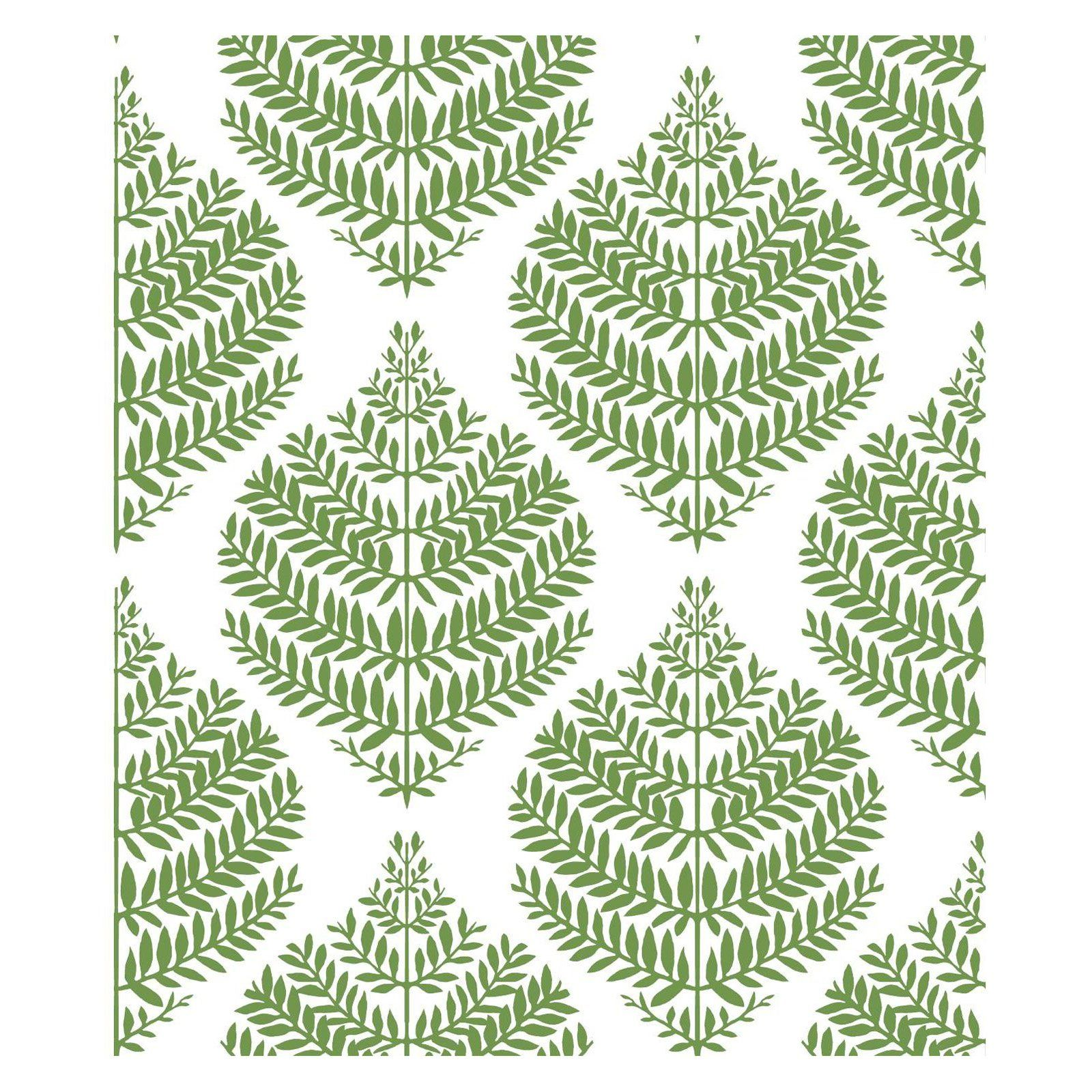 Roommates Hygge Fern Damask Peel And Stick Wallpaper In 2020 Peel And Stick Wallpaper Transitional Wallpaper Wallpaper Roll