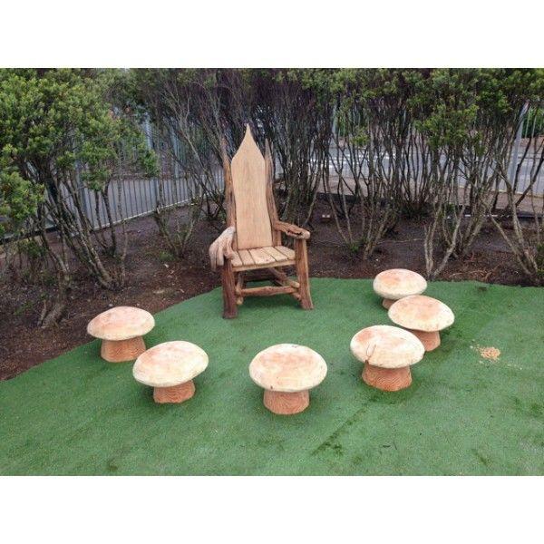 Storytelling Mushroom Stools Storytelling Chair Handmade Chairs Reclaimed Wood Furniture Handmade Chair Outdoor Wood Stool Woodworking Plans
