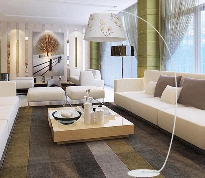 Nordic Fishing Floor Lamp Modern Minimalist Study Bedroom Living Room The Brand Deco Luces